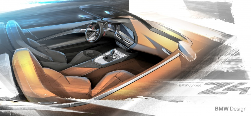BMW Z4 Concept debuts – production roadster in 2018 Image #700498