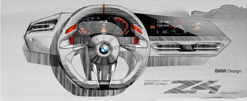 BMW Z4 Concept debuts – production roadster in 2018 Image #700501
