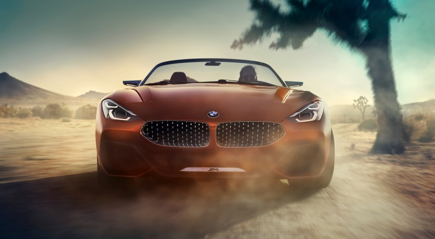 BMW Z4 Concept debuts – production roadster in 2018 Image #700511
