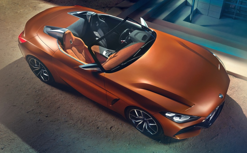 BMW Z4 Concept debuts – production roadster in 2018 Image #700512