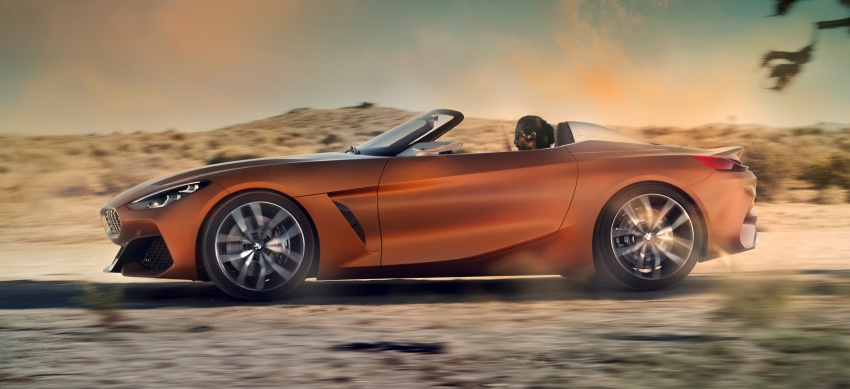 BMW Z4 Concept debuts – production roadster in 2018 Image #700514