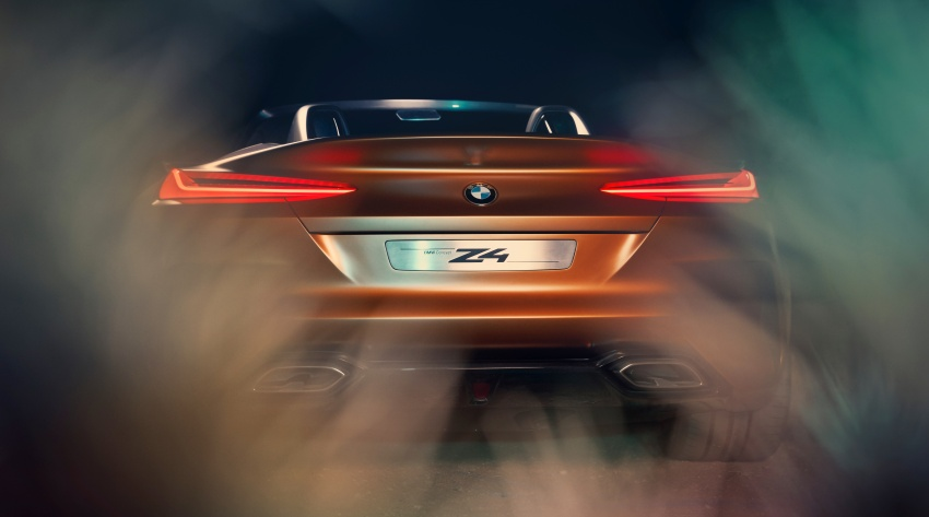 BMW Z4 Concept debuts – production roadster in 2018 Image #700515