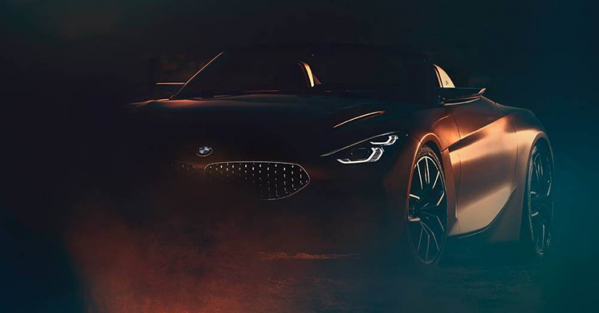 BMW Z4 Concept teased, reveal set for August 17 Image #699365