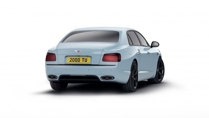 Bentley Flying Spur V8 S goes dark with Black Edition Image #691905