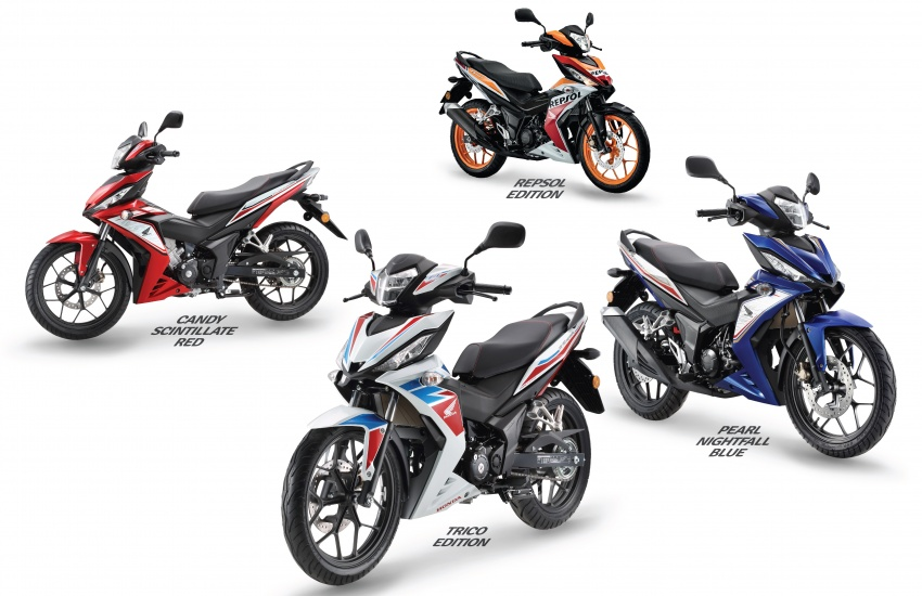 2017 Honda RS150R  in new colours – from  RM8,478 Image #693524