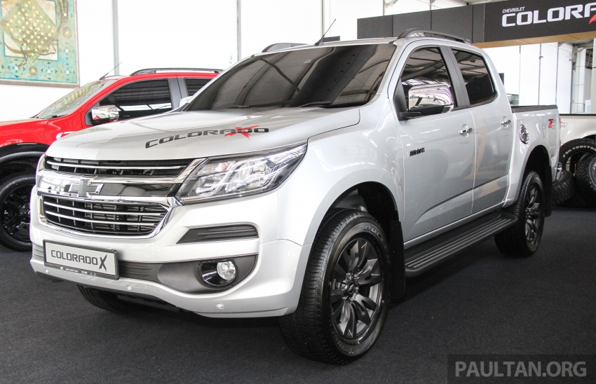 Chevrolet Colorado X, X-Urban, X-ADV launched – from RM114k -RM147k OTR without insurance Image #695569