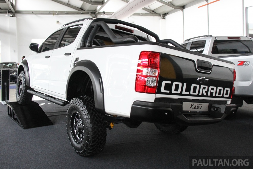 Chevrolet Colorado X, X-Urban, X-ADV launched – from RM114k -RM147k OTR without insurance Image #695602