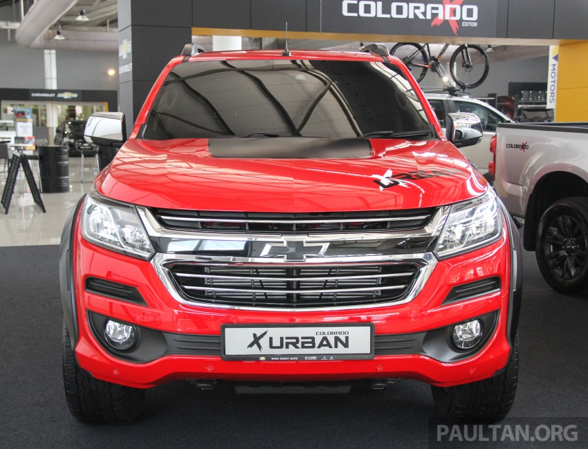 Chevrolet Colorado X, X-Urban, X-ADV launched – from RM114k -RM147k OTR without insurance Image #695535