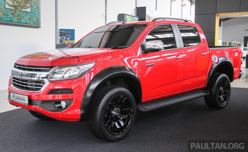 Chevrolet Colorado X, X-Urban, X-ADV launched – from RM114k -RM147k OTR without insurance Image #695538