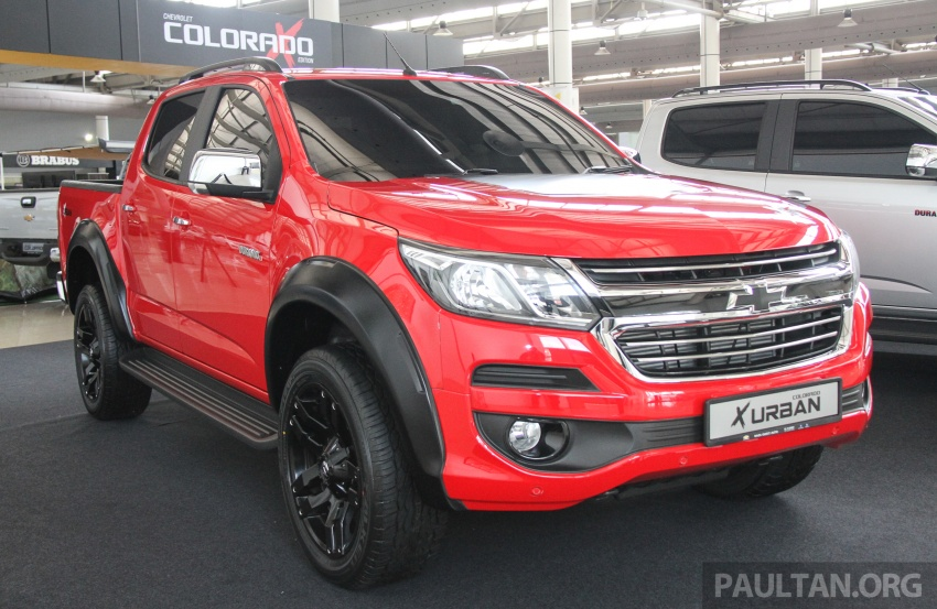 Chevrolet Colorado X, X-Urban, X-ADV launched – from RM114k -RM147k OTR without insurance Image #695541