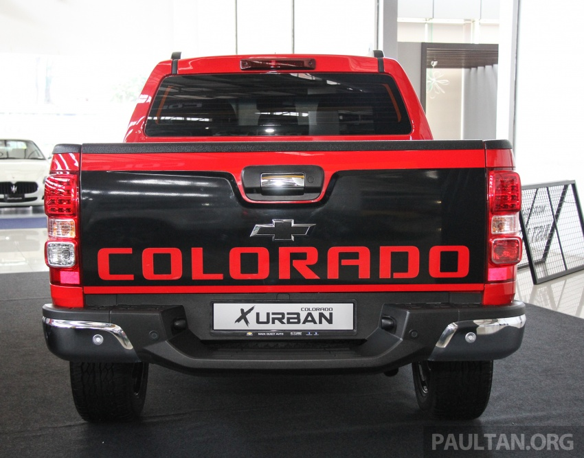 Chevrolet Colorado X, X-Urban, X-ADV launched – from RM114k -RM147k OTR without insurance Image #695549
