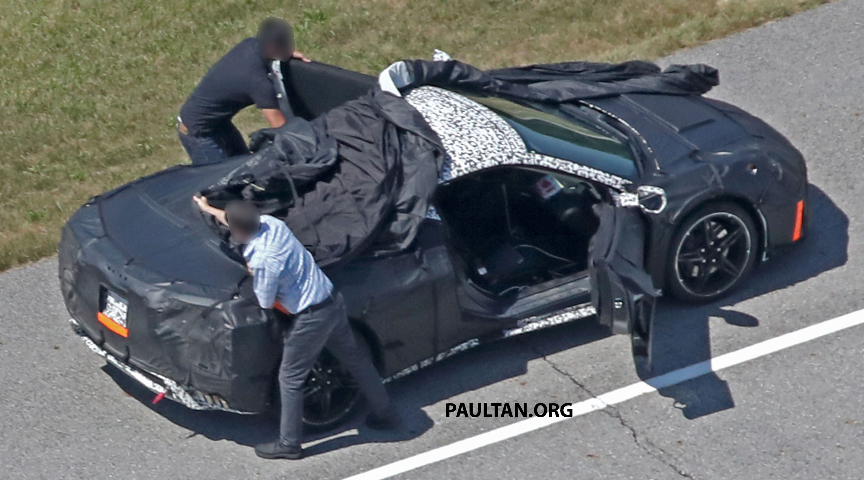 Spyshots Mid Engined Corvette Spotted Testing