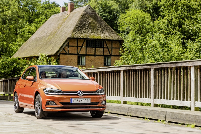 2018 Volkswagen Polo Mk6 – new photos released Image #704888