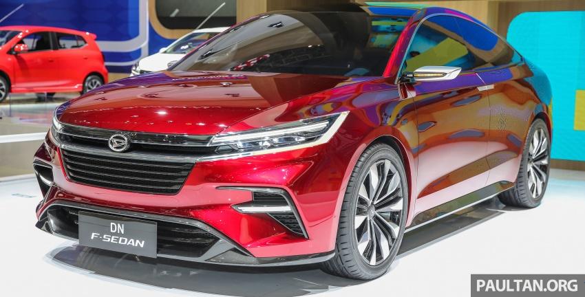 GIIAS 2017: Daihatsu F-Sedan Concept – 4-door coupe Image #695410