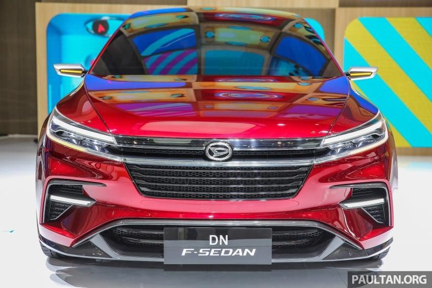 GIIAS 2017: Daihatsu F-Sedan Concept – 4-door coupe Image #695417