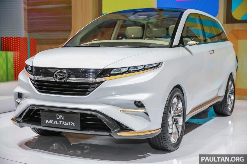 GIIAS 2017: Daihatsu DN Multisix – MPV konsep enam-tempat duduk baharu dengan penggayaan seperti SUV Image #695624
