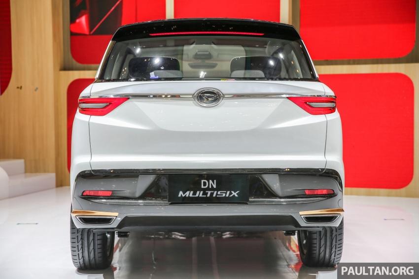 GIIAS 2017: Daihatsu DN Multisix – MPV konsep enam-tempat duduk baharu dengan penggayaan seperti SUV Image #697023