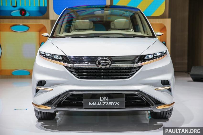 GIIAS 2017: Daihatsu DN Multisix – MPV konsep enam-tempat duduk baharu dengan penggayaan seperti SUV Image #695626
