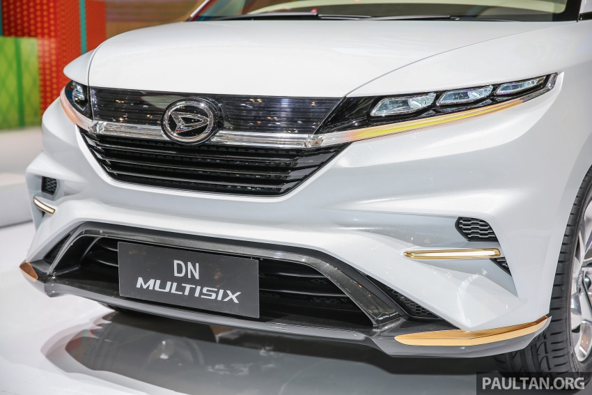 GIIAS 2017: Daihatsu DN Multisix – MPV konsep enam-tempat duduk baharu dengan penggayaan seperti SUV Image #695627