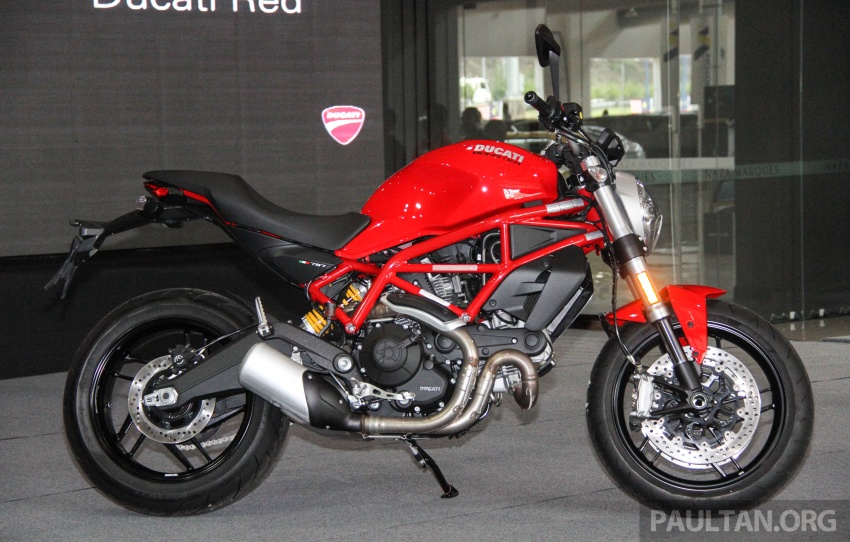 2017 Ducati Multistrada 950 and Monster 797 launched at Naza Merdeka Autofair – RM85,900 and RM55,900 Image #695940