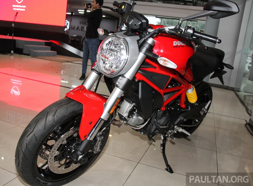 2017 Ducati Multistrada 950 and Monster 797 launched at Naza Merdeka Autofair – RM85,900 and RM55,900 Image #695964
