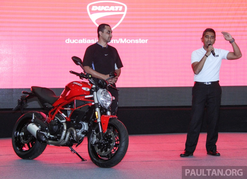 2017 Ducati Multistrada 950 and Monster 797 launched at Naza Merdeka Autofair – RM85,900 and RM55,900 Image #695942