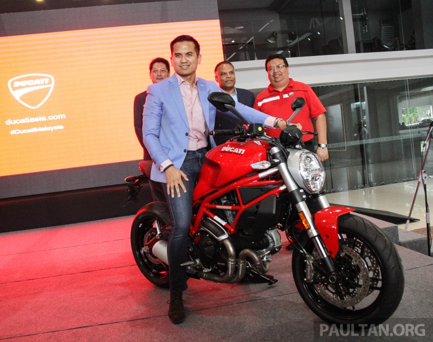 2017 Ducati Multistrada 950 and Monster 797 launched at Naza Merdeka Autofair – RM85,900 and RM55,900 Image #695943