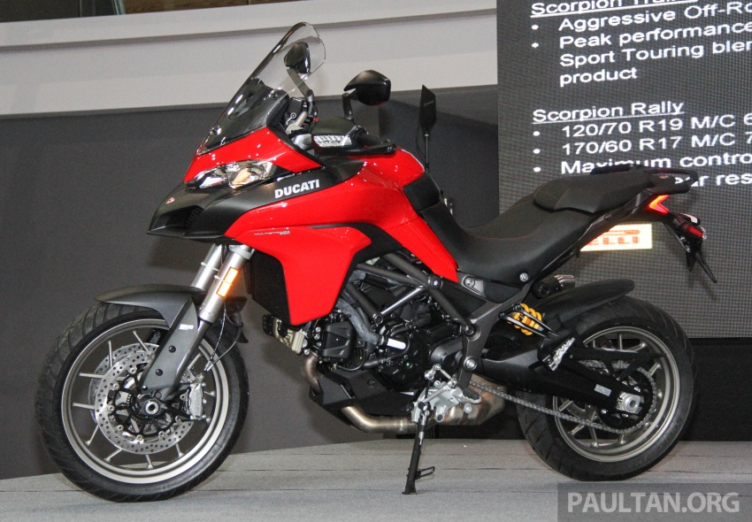 2017 Ducati Multistrada 950 and Monster 797 launched at Naza Merdeka Autofair – RM85,900 and RM55,900 Image #695986