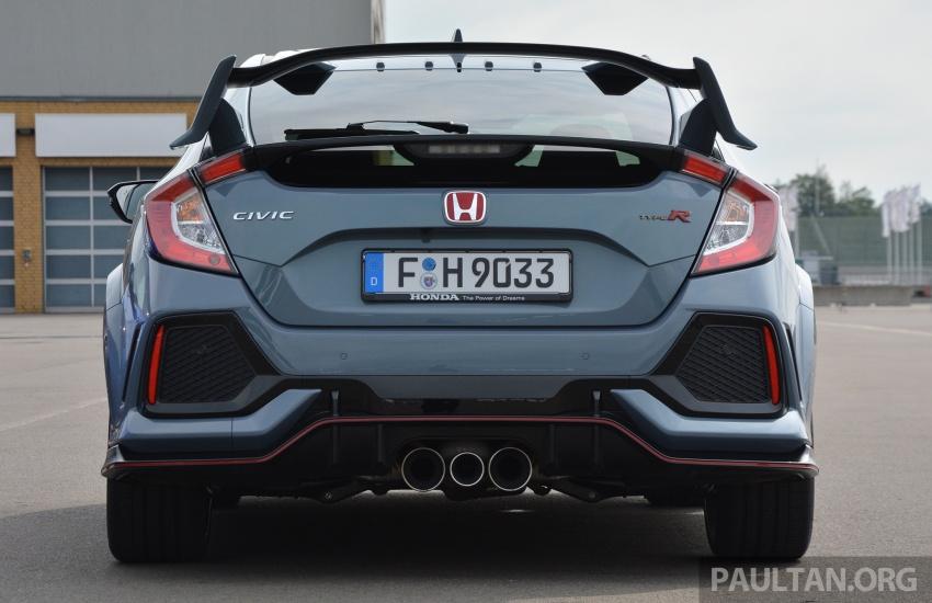 PANDU UJI: Honda Civic Type R FK8 2017 – revolusi 25 tahun peralihan falsafah pembinaan jentera Type R Image #692304