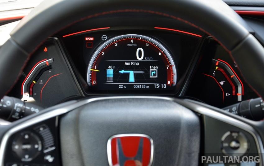 PANDU UJI: Honda Civic Type R FK8 2017 – revolusi 25 tahun peralihan falsafah pembinaan jentera Type R Image #692343