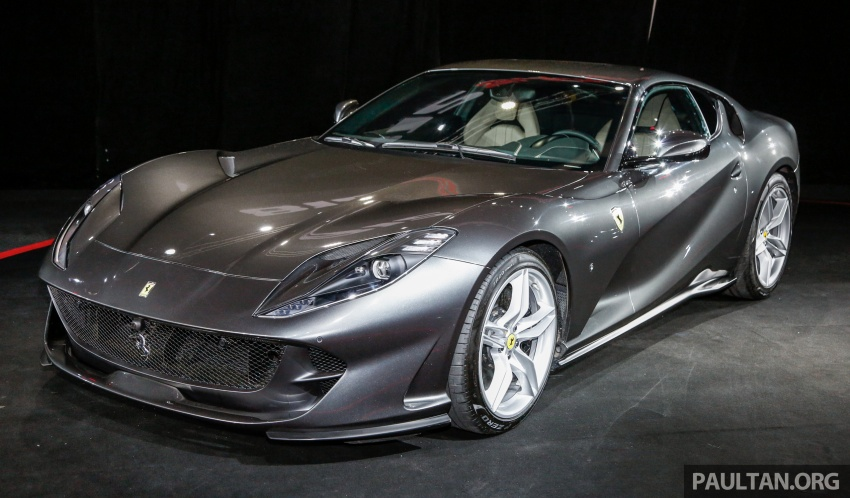 Ferrari 812 Superfast Debuts In Malaysia Auto Breaking News