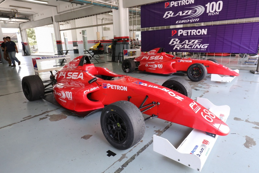 Driving a Formula 4 SEA race car fuelled by Petron Image #704248