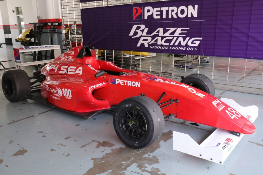 Driving a Formula 4 SEA race car fuelled by Petron Image #704250