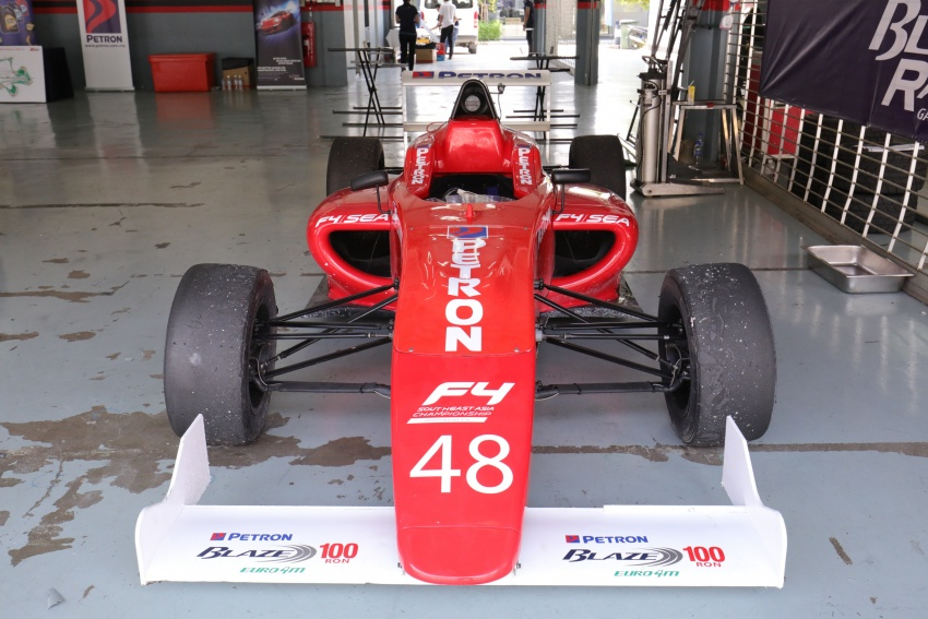 Driving a Formula 4 SEA race car fuelled by Petron Image #704251