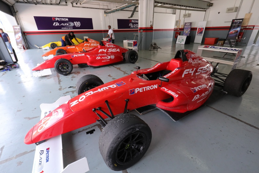 Driving a Formula 4 SEA race car fuelled by Petron Image #704252