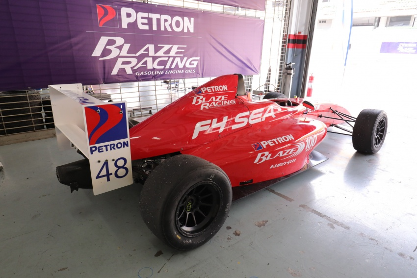 Driving a Formula 4 SEA race car fuelled by Petron Image #704254