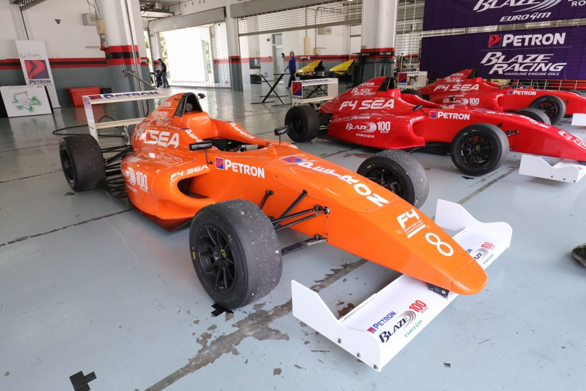 Driving a Formula 4 SEA race car fuelled by Petron Image #704255