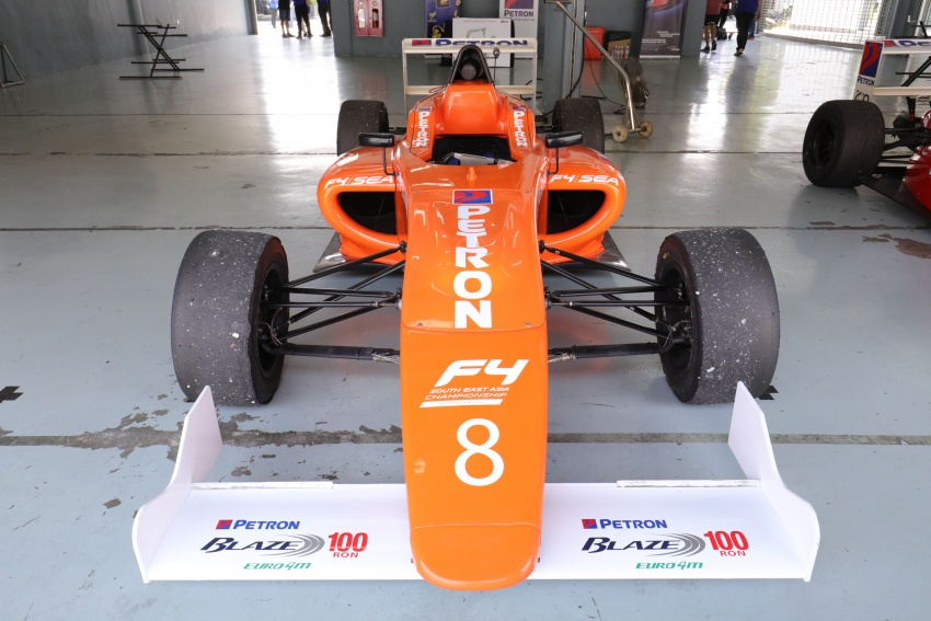 Driving a Formula 4 SEA race car fuelled by Petron Image #704256