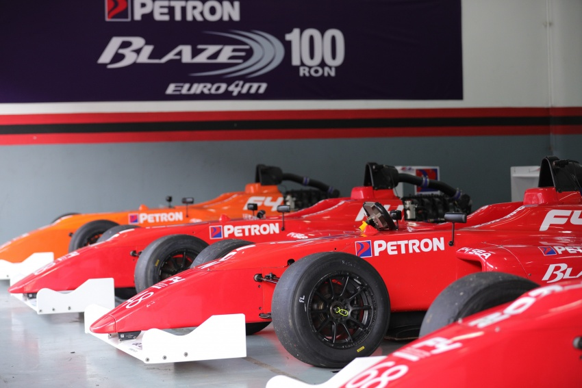 Driving a Formula 4 SEA race car fuelled by Petron Image #704238