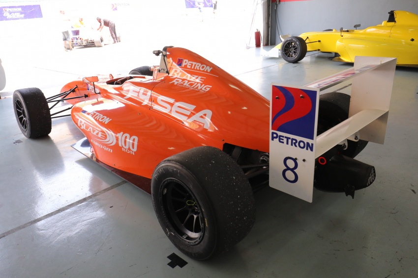 Driving a Formula 4 SEA race car fuelled by Petron Image #704258