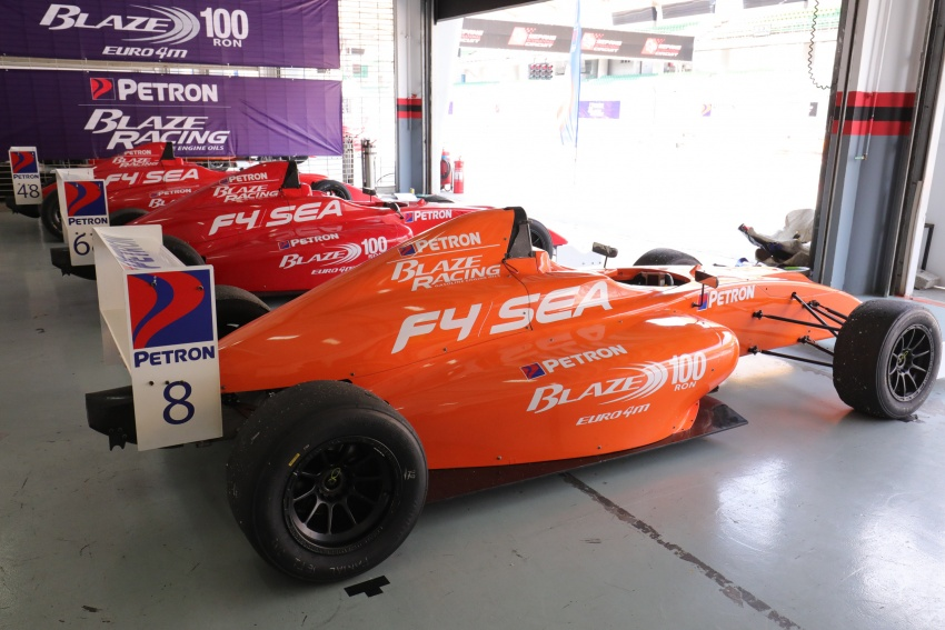 Driving a Formula 4 SEA race car fuelled by Petron Image #704259