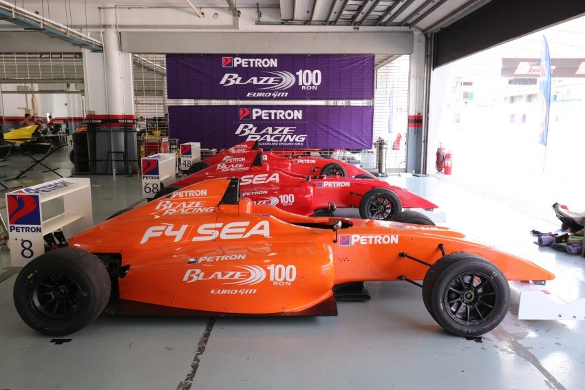 Driving a Formula 4 SEA race car fuelled by Petron Image #704260