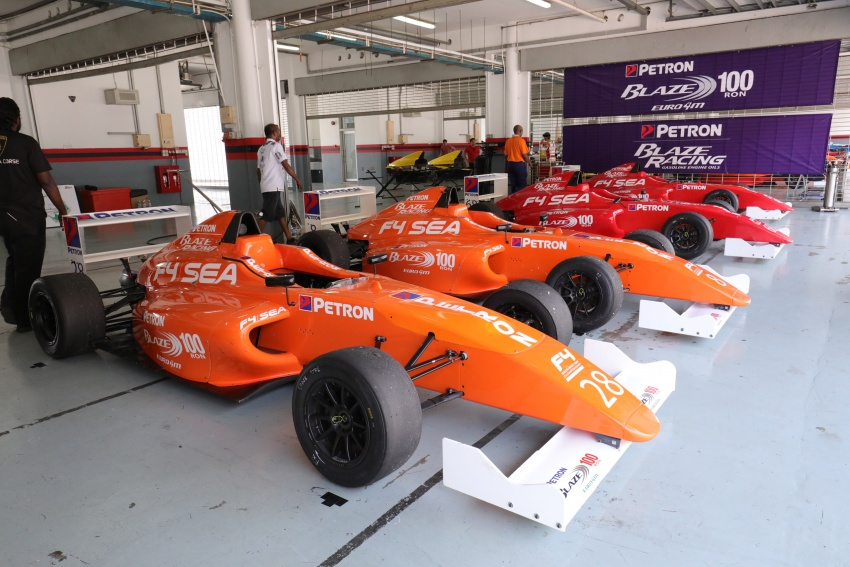 Driving a Formula 4 SEA race car fuelled by Petron Image #704261
