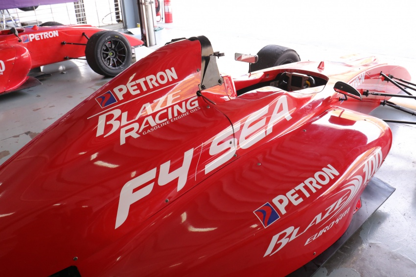 Driving a Formula 4 SEA race car fuelled by Petron Image #704263