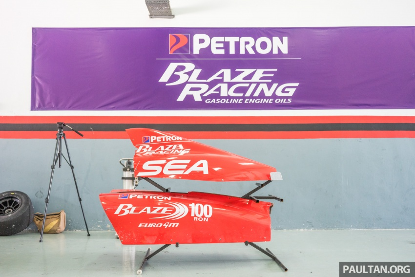 Driving a Formula 4 SEA race car fuelled by Petron Image #704642