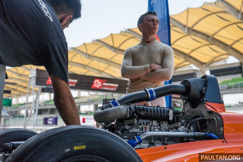 Driving a Formula 4 SEA race car fuelled by Petron Image #704646