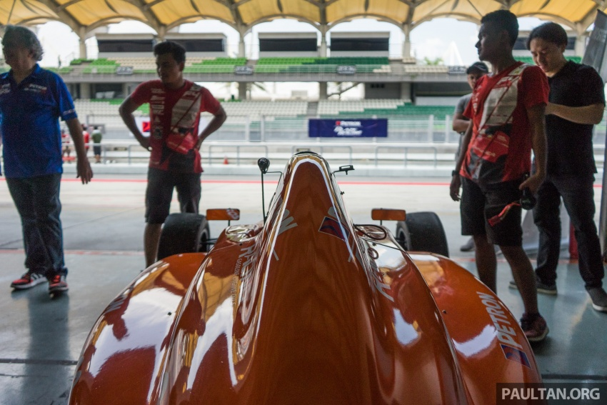 Driving a Formula 4 SEA race car fuelled by Petron Image #704648