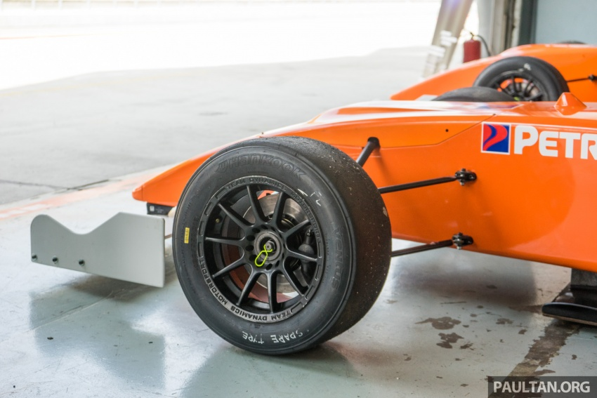 Driving a Formula 4 SEA race car fuelled by Petron Image #704651