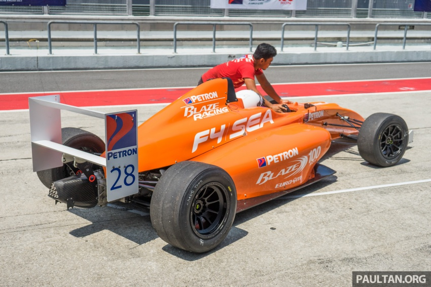 Driving a Formula 4 SEA race car fuelled by Petron Image #704653