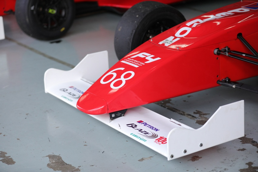 Driving a Formula 4 SEA race car fuelled by Petron Image #704240